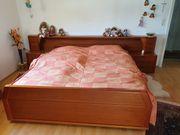 Massives Holzbett Doppelbett - kirschbaum - 180