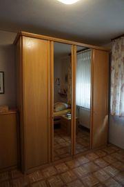 Hülsta Schlafzimmer aus hellem Holz