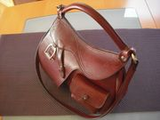 Damen Handtasche Reiter Tasche Sattel -