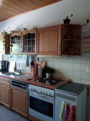 Einbauküche Front aus Holz