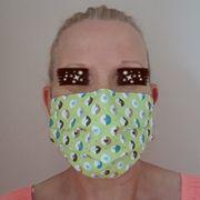 Behelfs Masken 100 Baumwolle