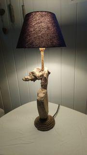 Treibholzlampe Stehlampe Lampe Unikat