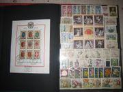Briefmarkensammlung Österreich ca 1965-1990