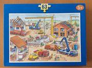 Puzzle Baustelle 63 Teile