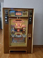 Monarch Spielautomat alt 1975 in