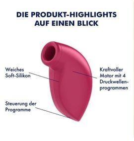 Sexspielzeug - DRUCKWELLENVIBRATOR - SATISFYER ONE NIGHT STAND