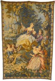 Gobelin Bildteppich um 1880 G057