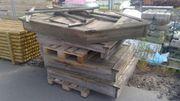 Abverkauf Sandkasten Piratenschiff Spielgerät Holz