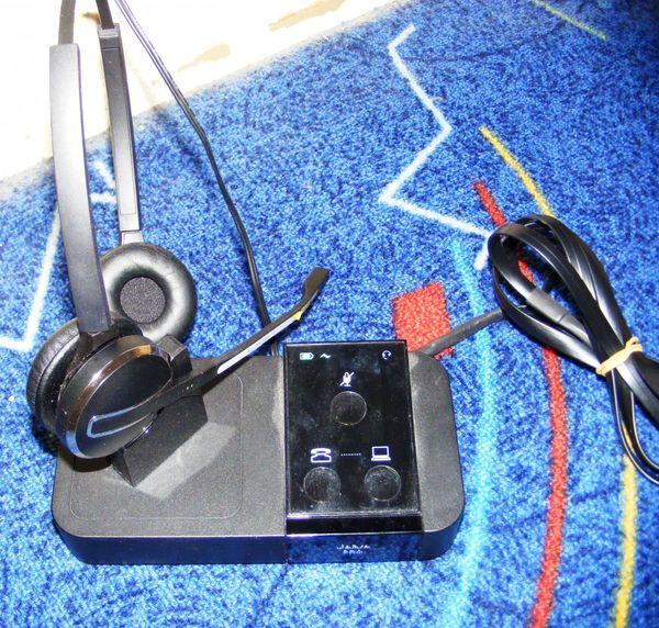 jabra-pro-9450 EDEL Headset mit Ladestation