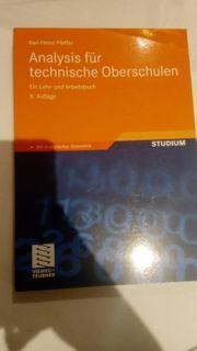 Buch Analysis für technische Oberschulen