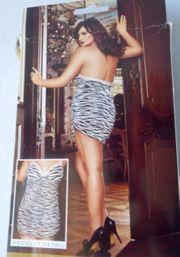 Zebra Mini Kleid