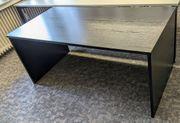 Schreibtisch - schwarz