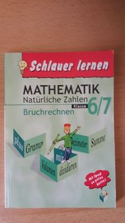 Lehrbuch MATHEMATIK Natürliche Zahlen Bruchrechnen