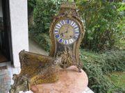 Seltene Boulle Uhr mit Konsole