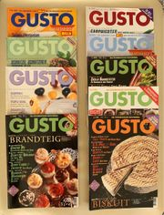 alte GUSTO Kochmagazine Paketpreis