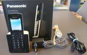 DECT-Design Schnurlostelefon PANASONIC KX-PRS120 mit AB