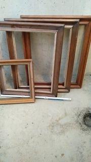 Holzrahmen alt diverse Größen Dachbodenfund