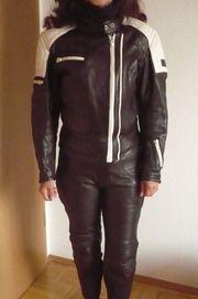 Damen Motorradbekleidung Lederkombi Gr 34