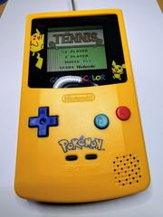 Nintendo Gameboy Color Pikachu Pokemon