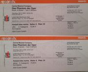 Phantom der Oper Zwei Tickets
