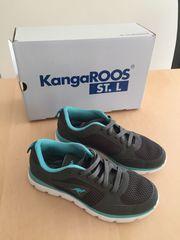 KangaRoos Turnschuhe Gr 36 grau-blau