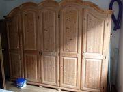 Massiv Holz Schrank