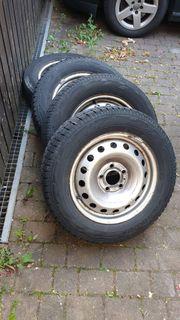 4x Räder Reifen Felgen 205