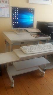 PC-Tisch ohne die abgebildeten Geräte