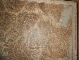 Alte Landkarten Vlbg.