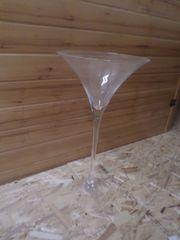 Deko-Vase gr Martiniglas nur 1x