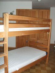 Hochbett Etagenbett Kidy aus Buchenholz