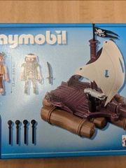 2 Playmobil Piratenfloß