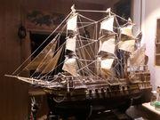 Drei master- segelschiff