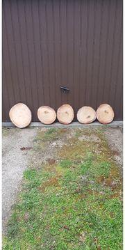 Deko Echtholzplatten mit oder ohne