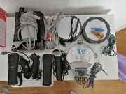 Wii console und viel Zubehör
