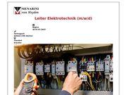 Leiter Elektrotechnik m w d
