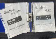 McIntosh Marantz Schaltplan Service Unterlagen