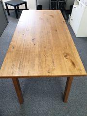 Schöner Holztisch 160x80 cm