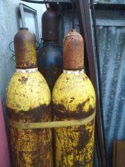 Gasflaschen für Schneidbrenner