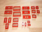 Lego Fenster rot aus den