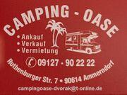Kaufe Wohnmobile und Wohnwagen Barankauf