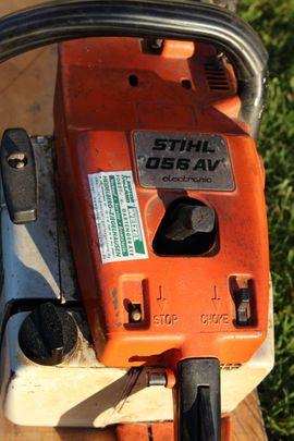 Geräte, Maschinen - STIHL Motorkettensäge 056 AV electronic