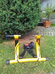 1 Rennrad-Rolltrainer Elite cromo neuwertig