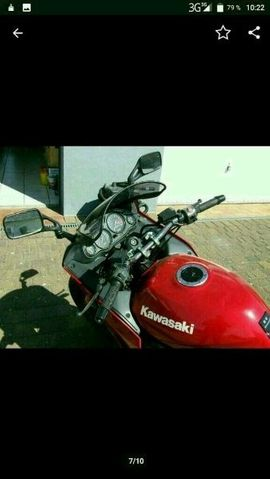 Bild 4 - 1100 Kawasaki - Helmstedt