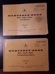 Mercedes-Benz Motor Werkstatt-Handbücher 08 86