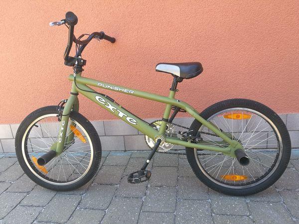 BMX Fahrrad EXTE Punisher mit