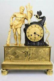 Antike Französische Figurenuhr Kaminuhr Pendule