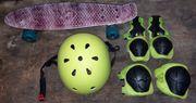 Skateboard Meteor für Kinder Schonerset