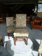 4 er Set Stühle mit