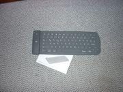 Bluetooth Tastatur grau - NEU